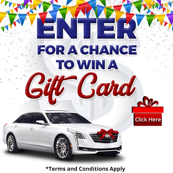 Enter for a chance to win a Gift card