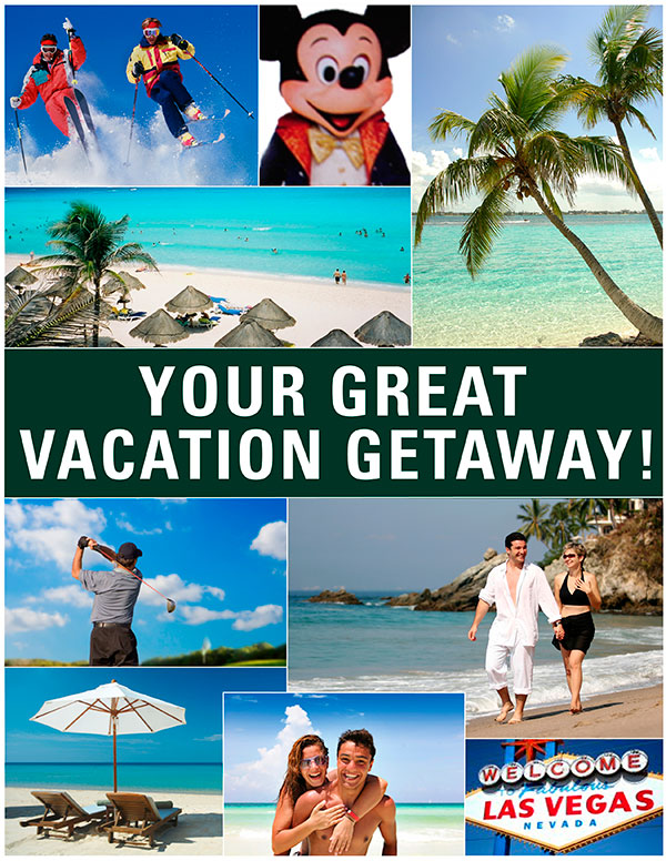 Your great vacation getaway!